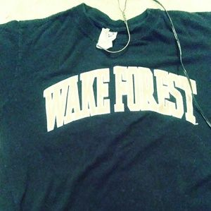 Wake Forest tee shirt Sz Medium $15 + free W/F hat
